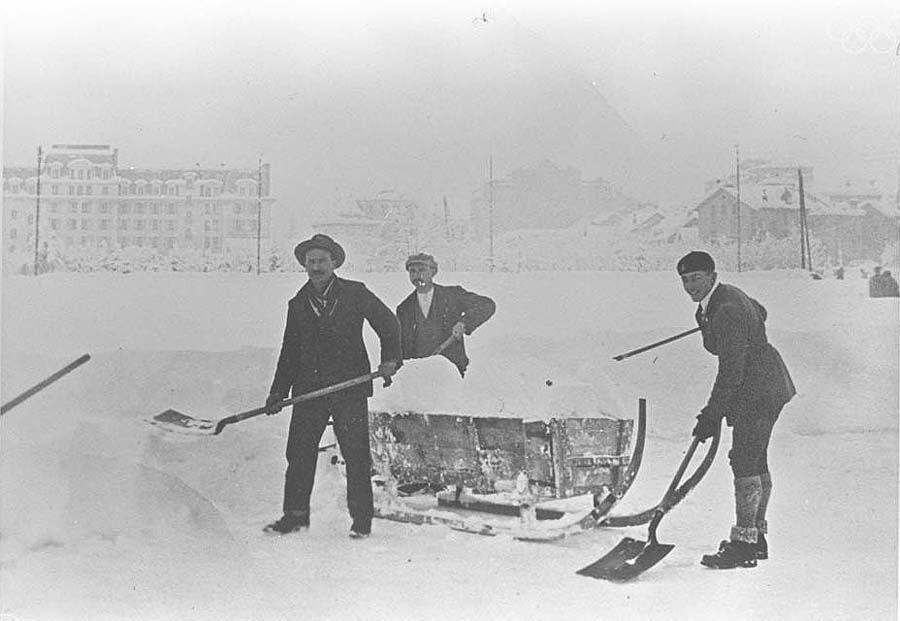 1stolympics02 Какими были первые зимние Олимпийские игры