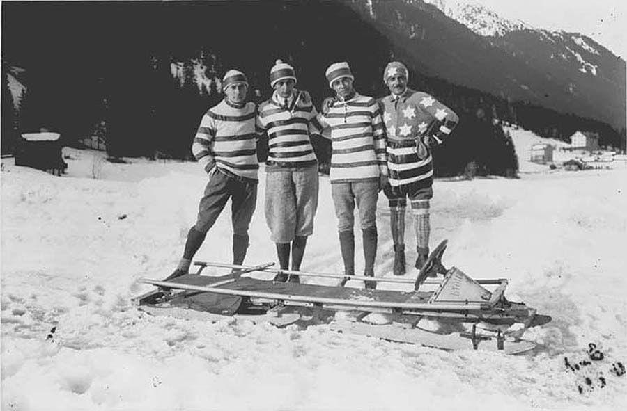 1stolympics14 Какими были первые зимние Олимпийские игры