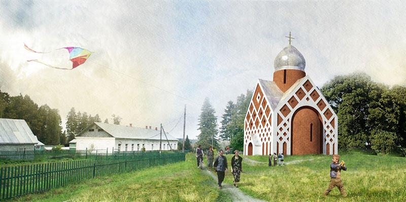44529 original Как могут выглядеть православные церкви в будущем