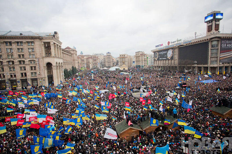 Украина. ЄвроМайдан 2013