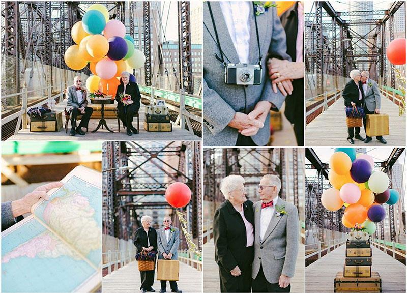 BIGPIC210 Трогательная Love Story к годовщине свадьбы