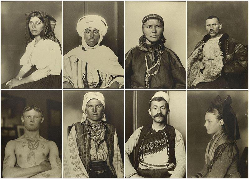 BIGPIC34 Портреты иммигрантов в США (1905 09 гг.)