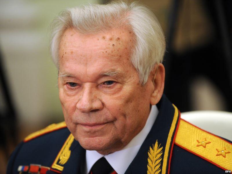 Михаил Калашников - 23 декабря 2013 года - 94 года