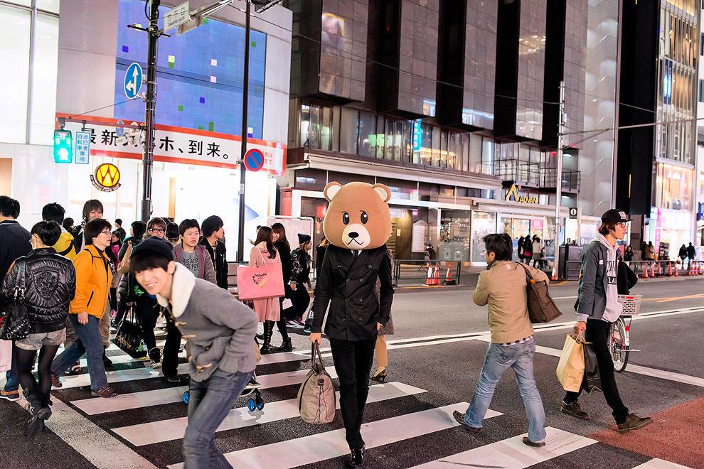 Как выглядят неформалы Токио