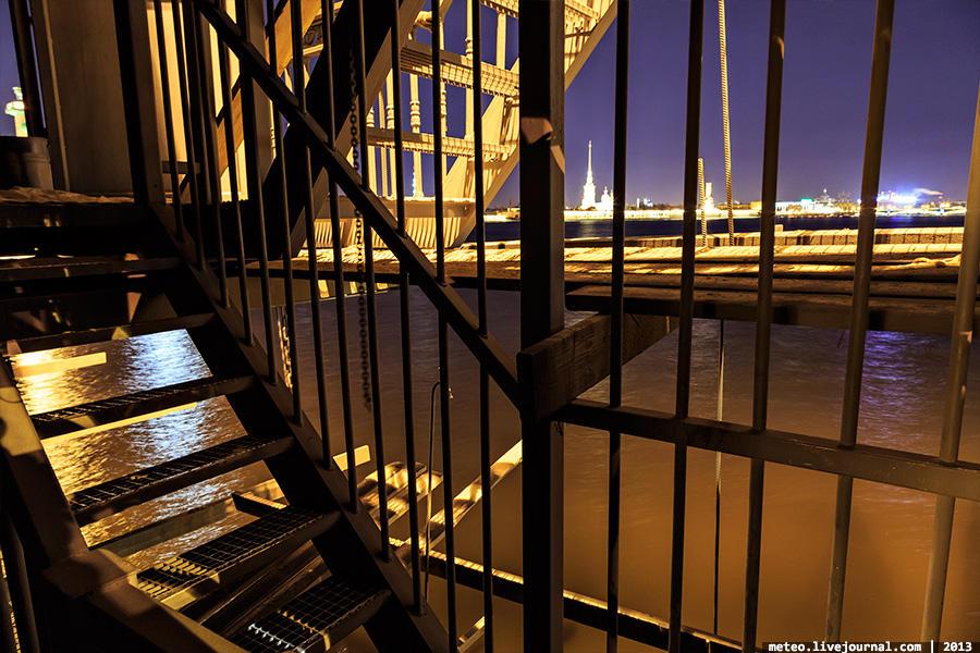 PalaceBridge03 Как устроен Дворцовый мост в Санкт Петербурге