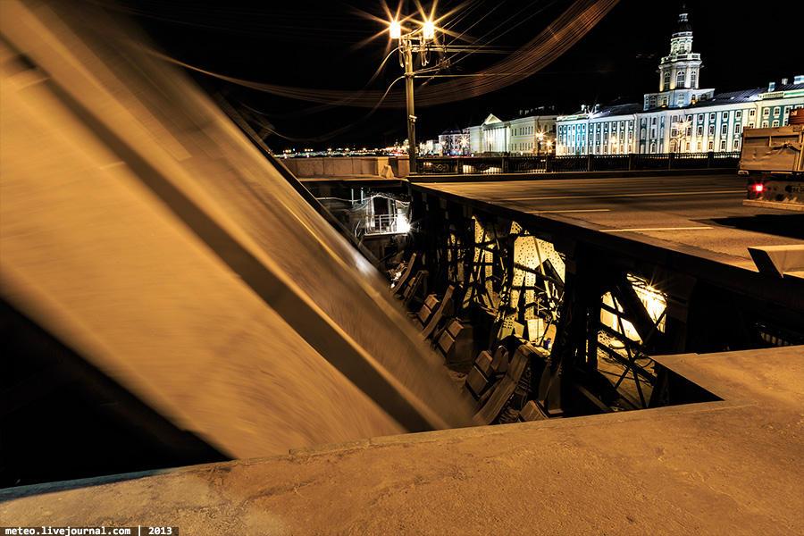 PalaceBridge24 Как устроен Дворцовый мост в Санкт Петербурге