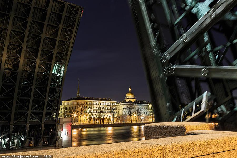 PalaceBridge29 Как устроен Дворцовый мост в Санкт Петербурге