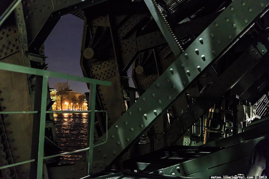 PalaceBridge38 Как устроен Дворцовый мост в Санкт Петербурге