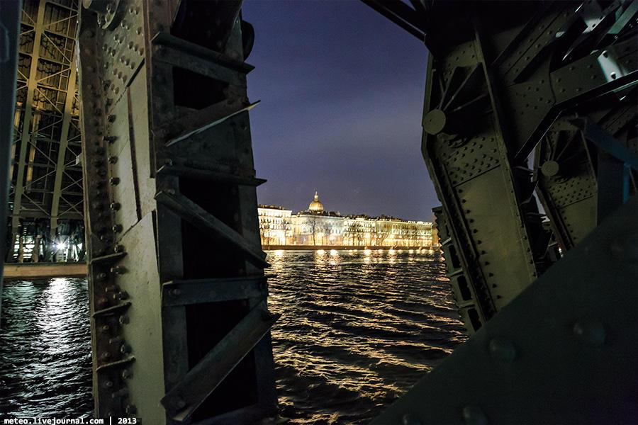 PalaceBridge39 Как устроен Дворцовый мост в Санкт Петербурге