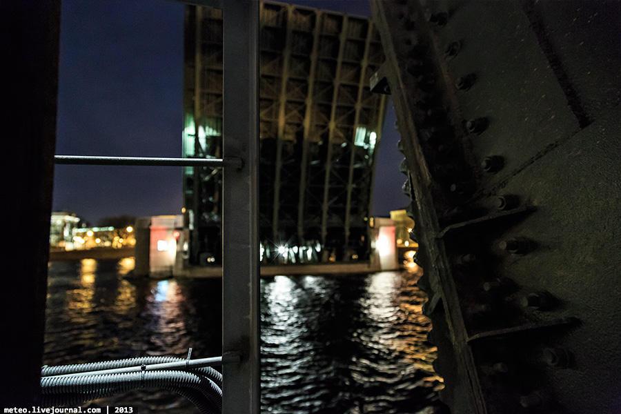 PalaceBridge40 Как устроен Дворцовый мост в Санкт Петербурге