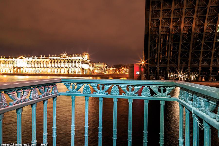PalaceBridge44 Как устроен Дворцовый мост в Санкт Петербурге