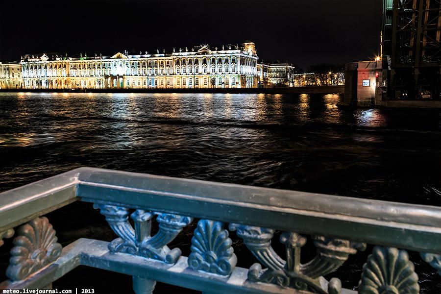 PalaceBridge45 Как устроен Дворцовый мост в Санкт Петербурге