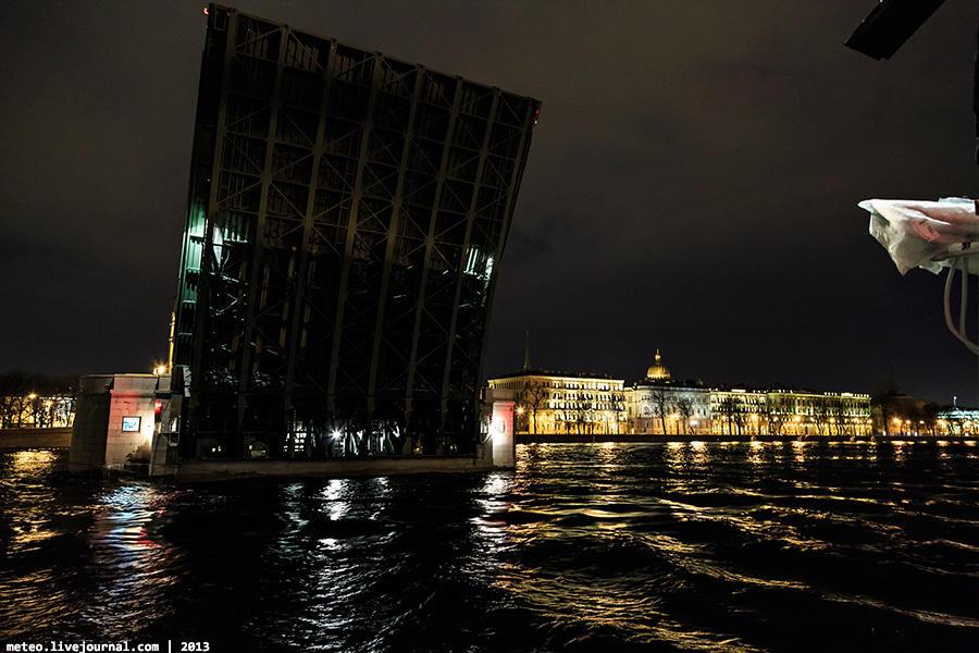 PalaceBridge46 Как устроен Дворцовый мост в Санкт Петербурге