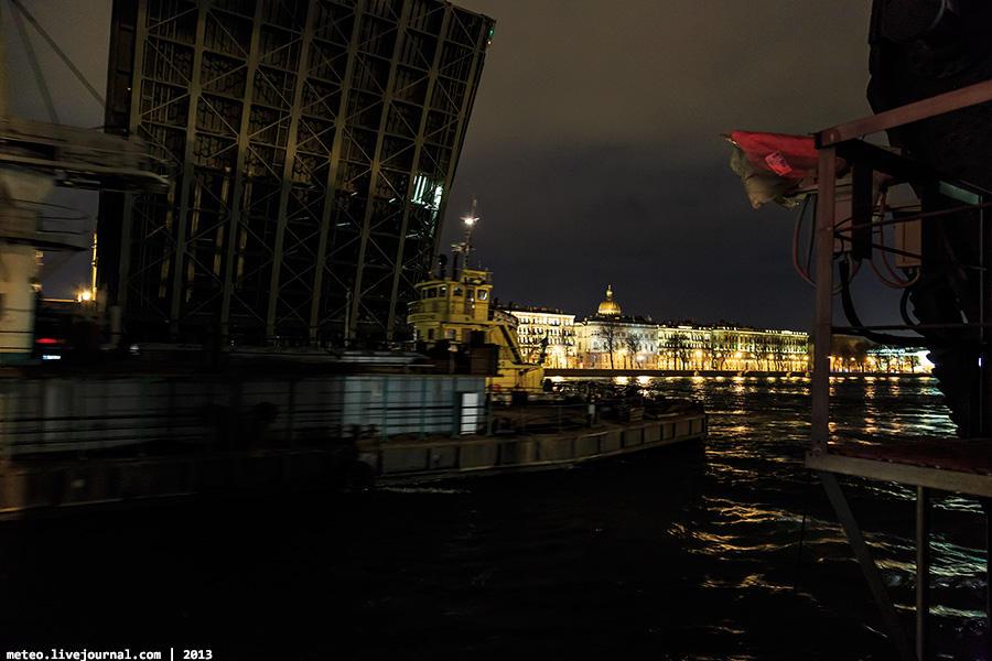 PalaceBridge50 Как устроен Дворцовый мост в Санкт Петербурге
