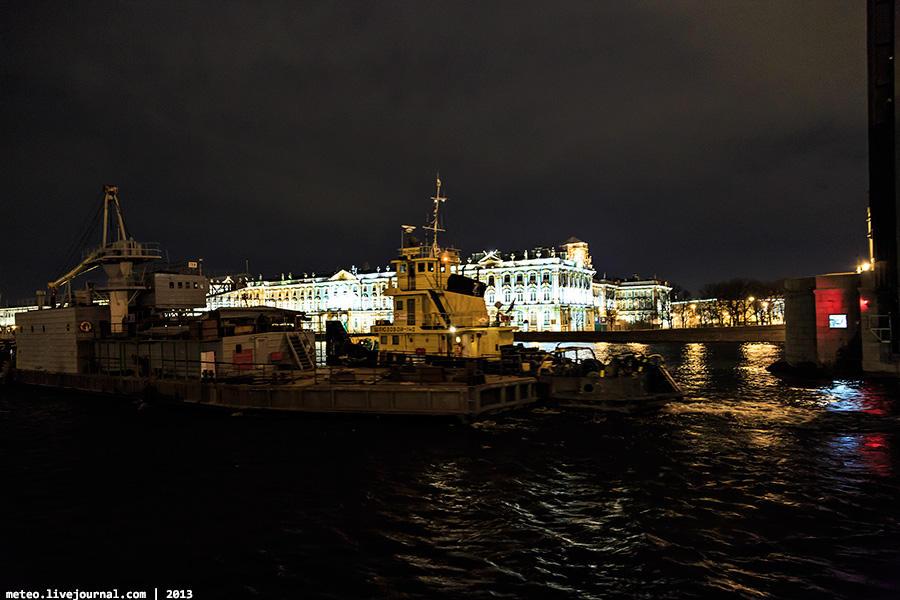 PalaceBridge51 Как устроен Дворцовый мост в Санкт Петербурге