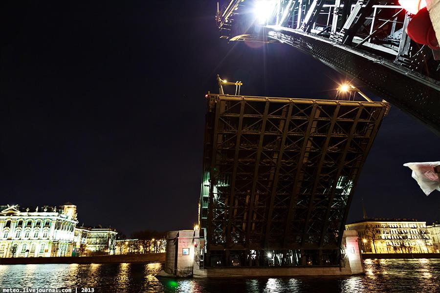 PalaceBridge56 Как устроен Дворцовый мост в Санкт Петербурге