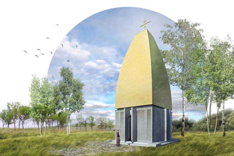 Quadraturacirculi chapelEfMak 001 Как могут выглядеть православные церкви в будущем