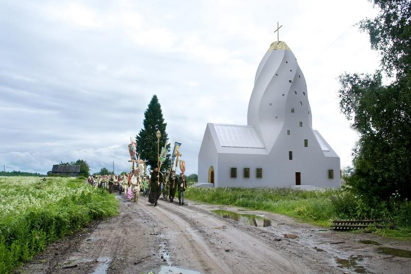 Quadraturacirculi pentecostchurch 001 Как могут выглядеть православные церкви в будущем