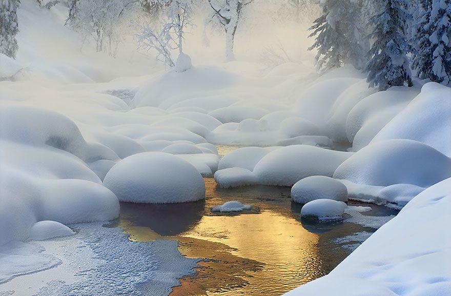 WinterLandscapes11 Восхитительные зимние пейзажи