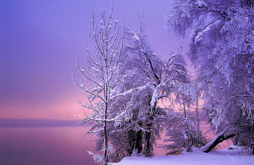 WinterLandscapes16 Восхитительные зимние пейзажи