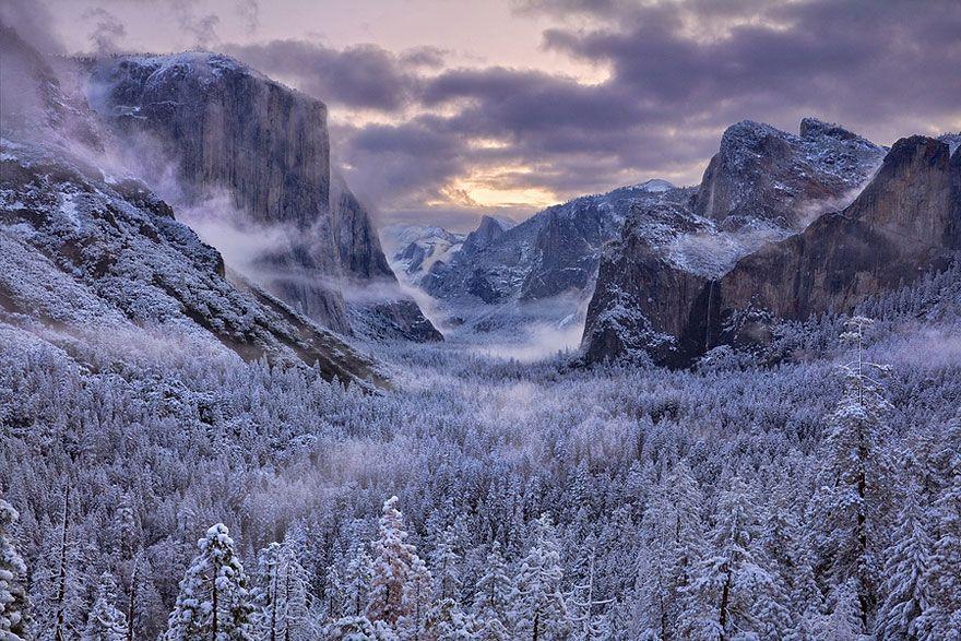 WinterLandscapes17 Восхитительные зимние пейзажи