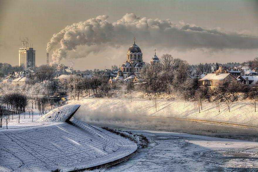 WinterLandscapes18 Восхитительные зимние пейзажи