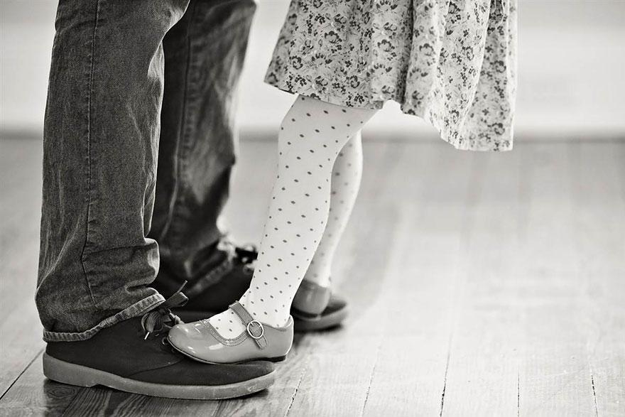 bennunery08 Отец и дочь воссоздали свадебные фото, чтобы попрощаться с женой и матерью