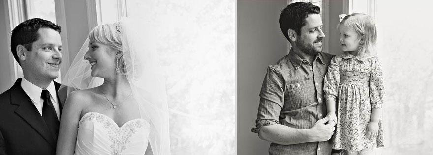 bennunery09 Отец и дочь воссоздали свадебные фото, чтобы попрощаться с женой и матерью