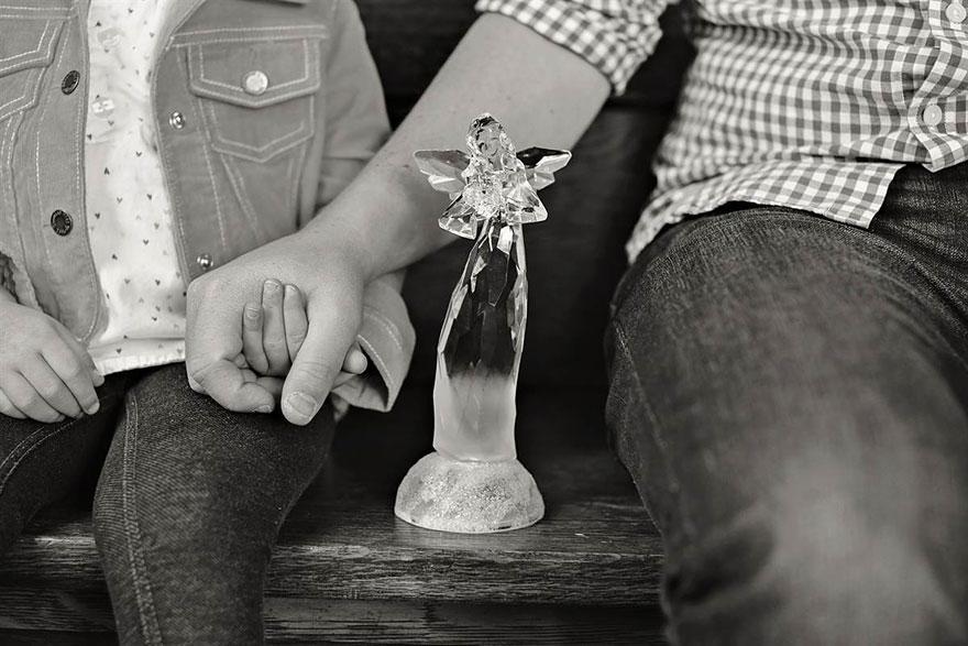 bennunery10 Отец и дочь воссоздали свадебные фото, чтобы попрощаться с женой и матерью