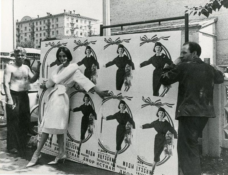 diorinmsk03 Кристиан Диор: Как прошел первый визит в Москву в 1959 году