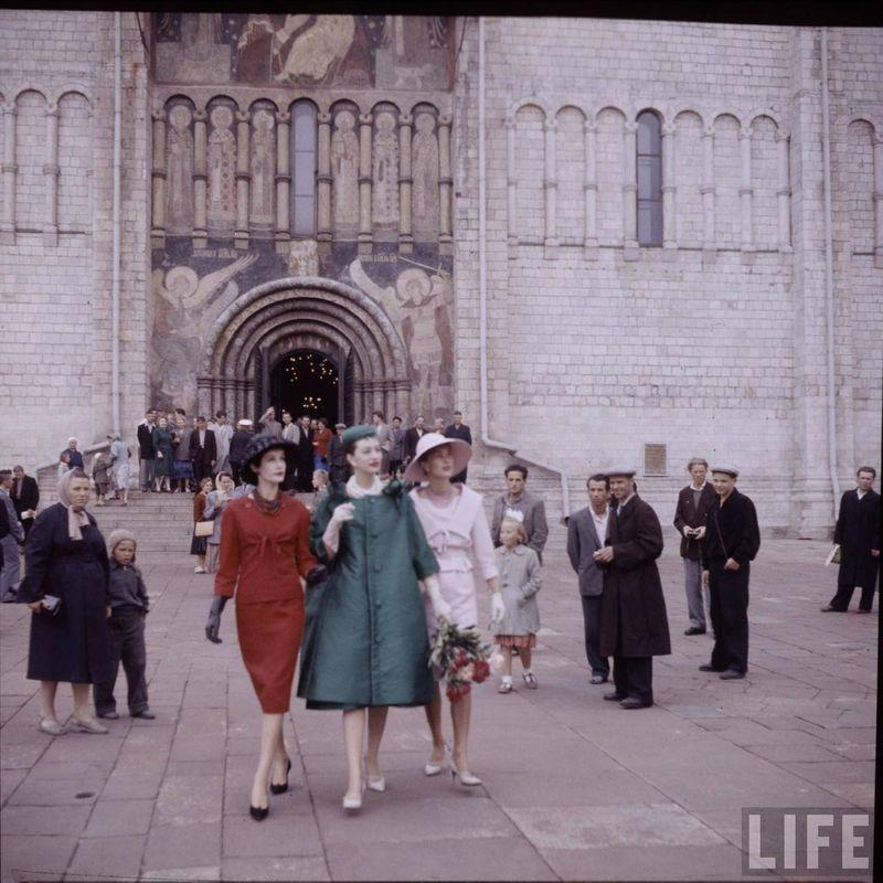 d789cb9df2c0 diorinmsk15 Кристиан Диор  Как прошел первый визит в Москву в 1959 году