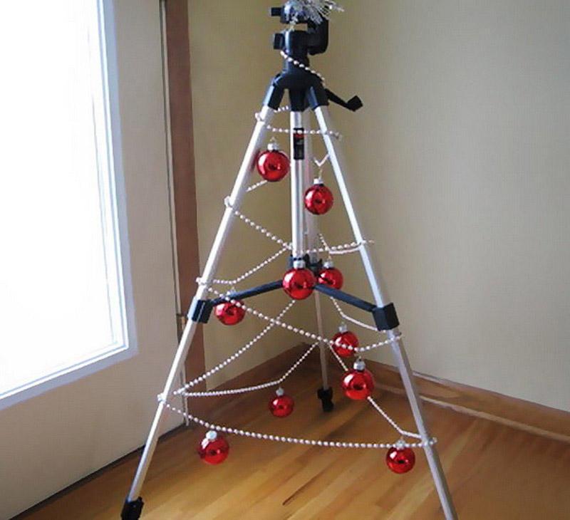 diyxmastrees09 Как сделать новогоднюю елку своими руками: несколько простых идей