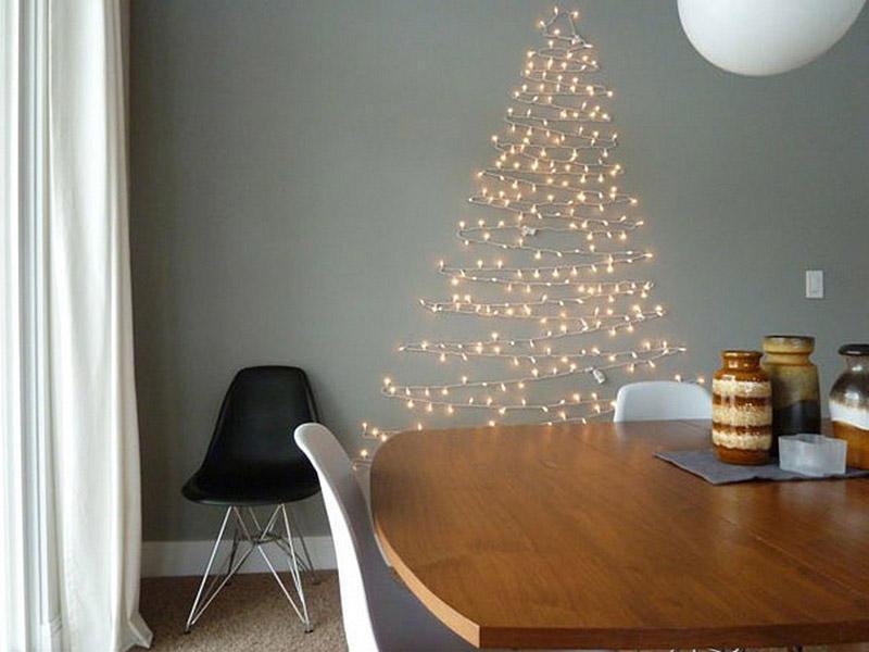 diyxmastrees17 Как сделать новогоднюю елку своими руками: несколько простых идей
