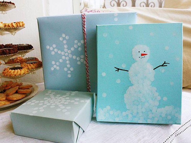 giftwrap03 30 идей, как упаковать новогодний подарок