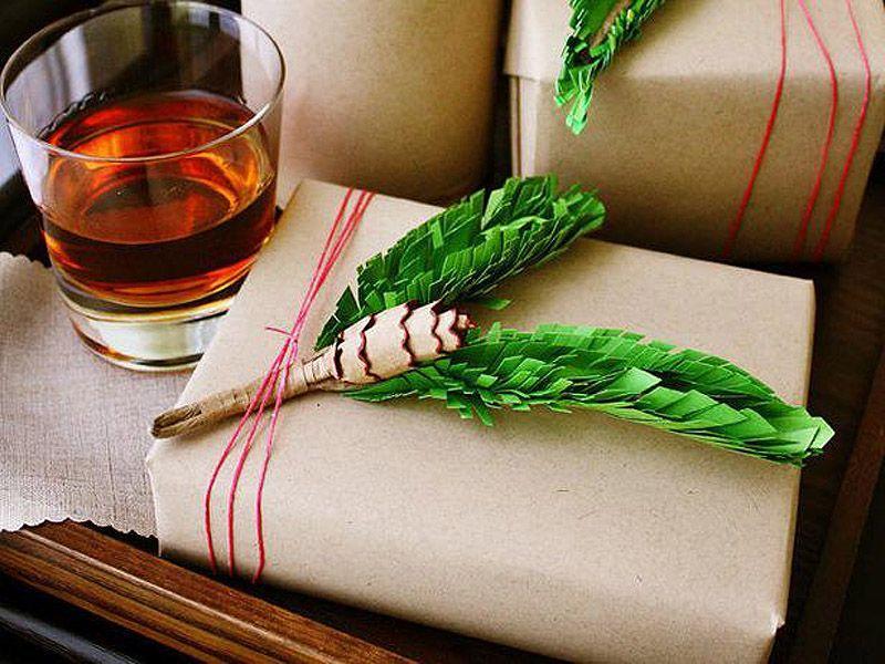 giftwrap04 30 идей, как упаковать новогодний подарок