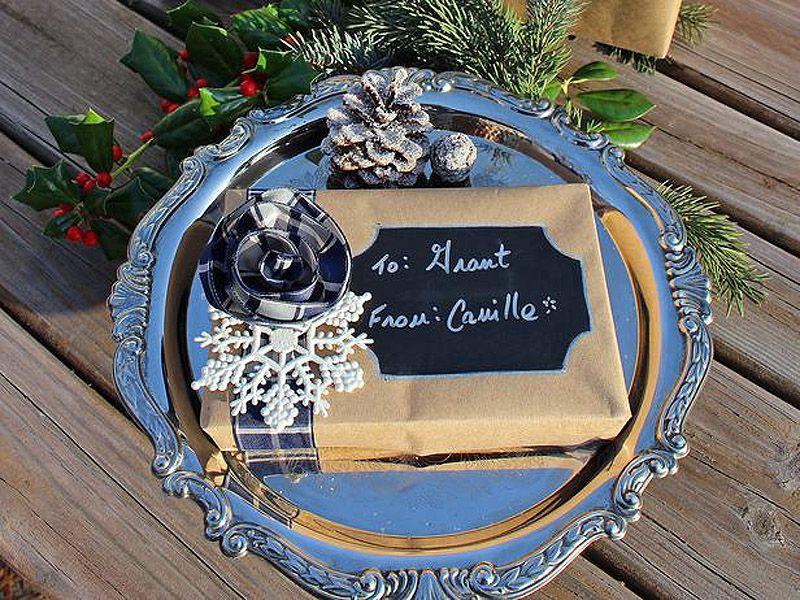 giftwrap07 30 идей, как упаковать новогодний подарок