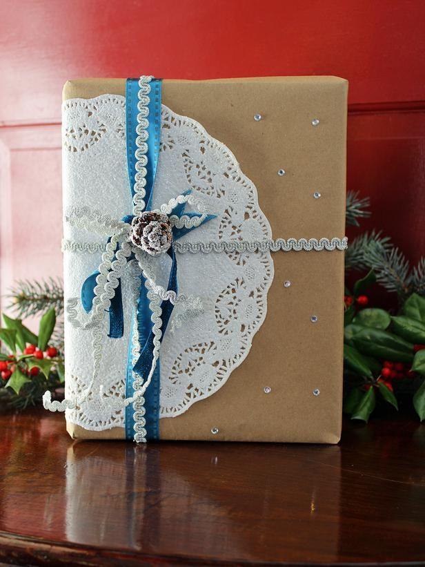 giftwrap08 30 идей, как упаковать новогодний подарок