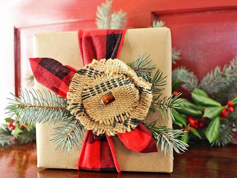 giftwrap09 30 идей, как упаковать новогодний подарок