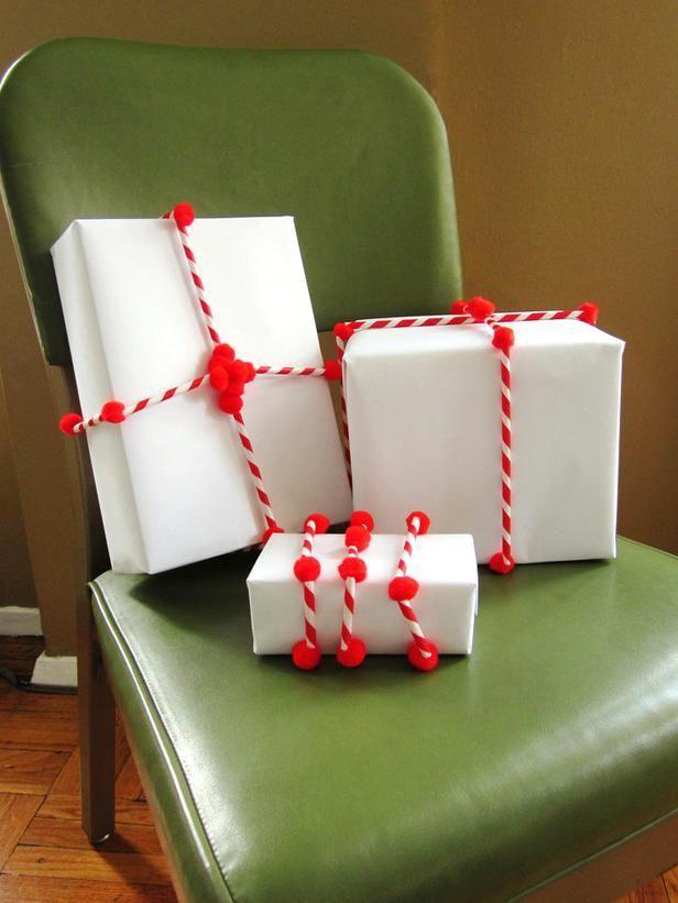 giftwrap10 30 идей, как упаковать новогодний подарок
