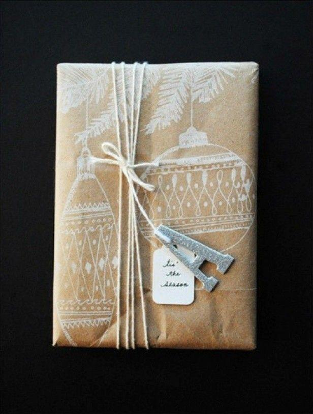 giftwrap14 30 идей, как упаковать новогодний подарок