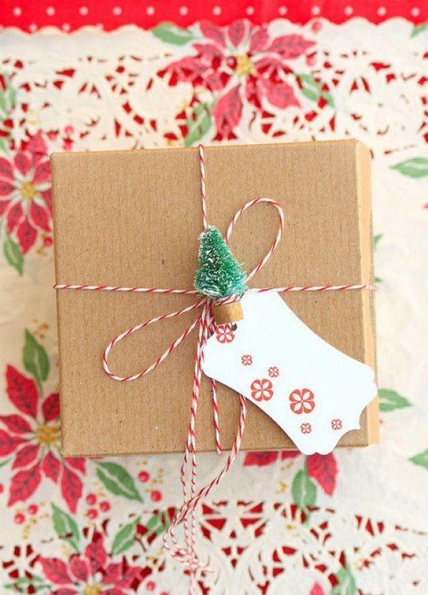 giftwrap17 30 идей, как упаковать новогодний подарок