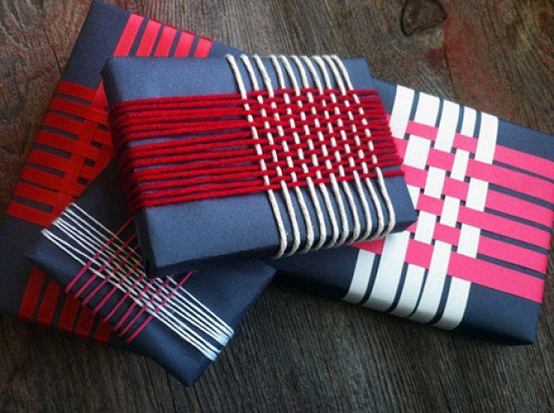 giftwrap19 30 идей, как упаковать новогодний подарок