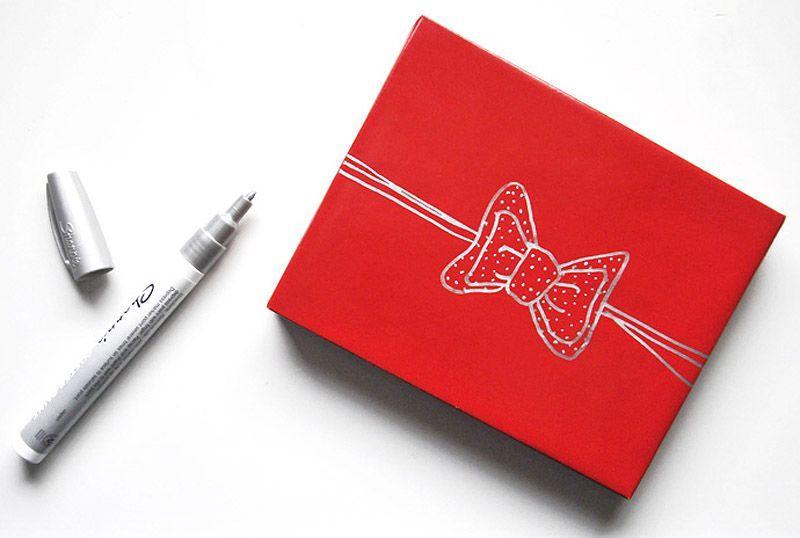 giftwrap23 30 идей, как упаковать новогодний подарок
