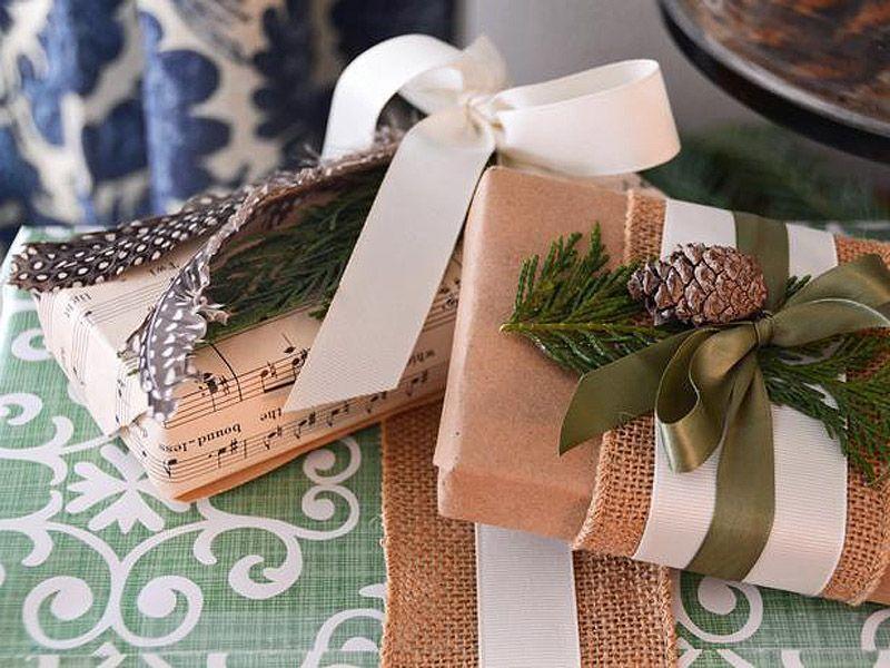 giftwrap27 30 идей, как упаковать новогодний подарок
