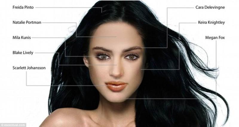 idealface02 800x424 Как воспринимают женскую красоту мужчины и женщины