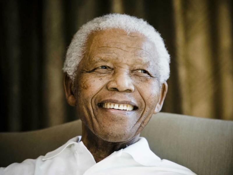 Нельсон Мандела - 5 декабря 2013 года - 95 лет