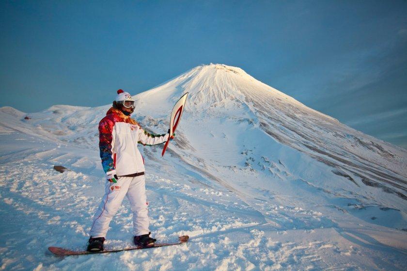 olympicfire01 Самые яркие моменты путешествия Олимпийского огня 2014, глазами иностранных журналистов