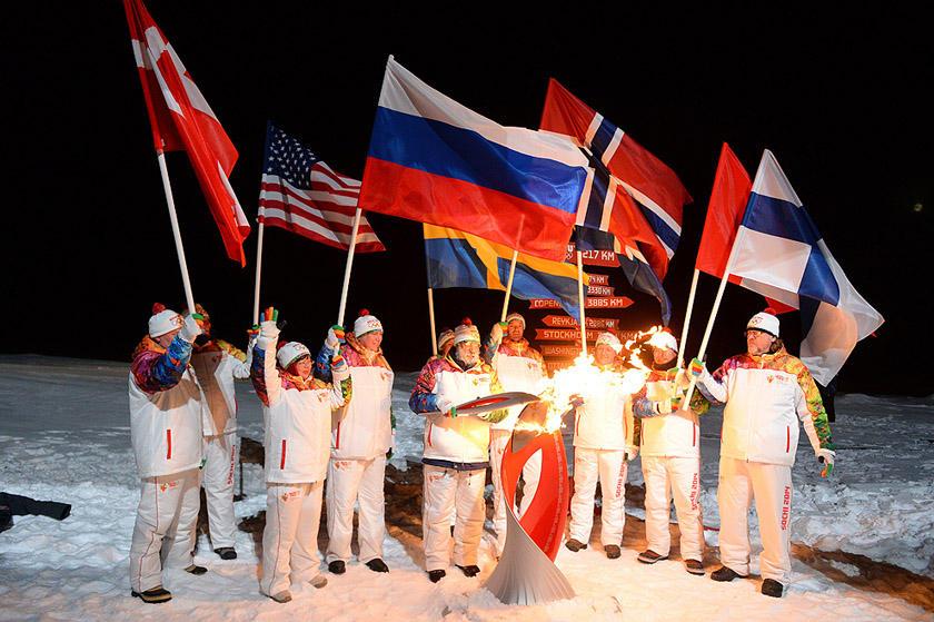 olympicfire05 Самые яркие моменты путешествия Олимпийского огня 2014, глазами иностранных журналистов