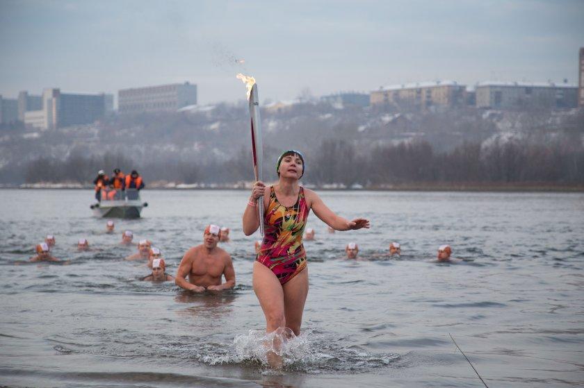 olympicfire12 Самые яркие моменты путешествия Олимпийского огня 2014, глазами иностранных журналистов