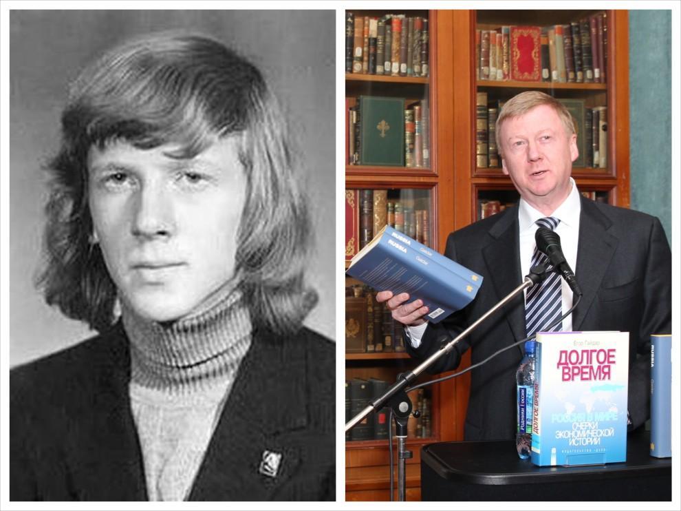 politiki17 Какими были политики в молодости